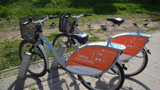 Poznań, rower miejski w sezonie 2016