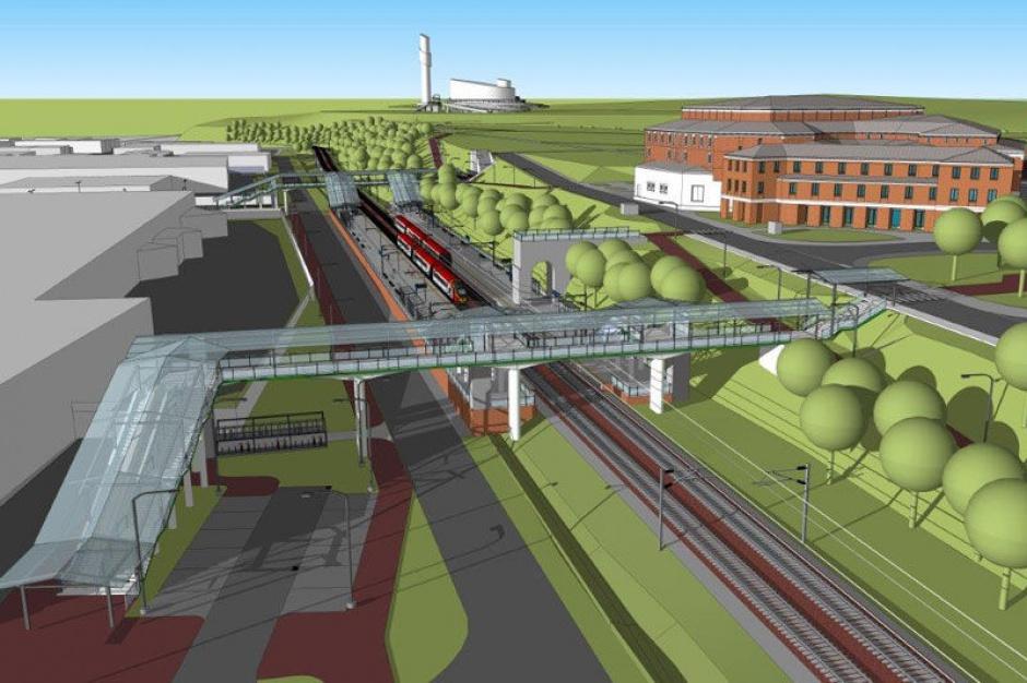 Kraków: Budują nowy przystanek kolejowy Sanktuarium na Światowe Dni Młodzieży
