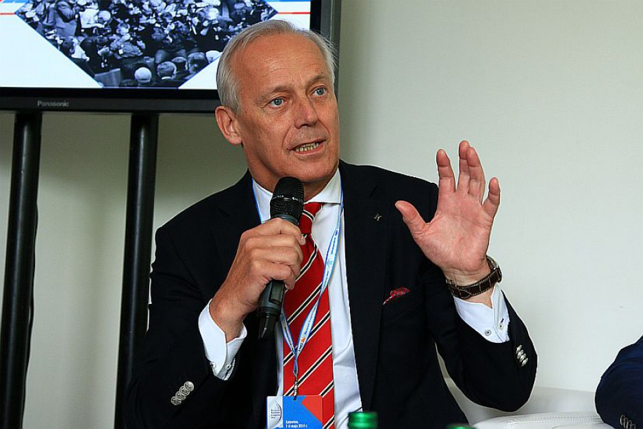 Piotr Wojaczek, obecny prezes KSSE. (fot. PTWP)
