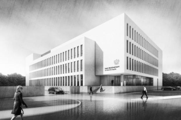 Pierwszy rządowy projekt PPP: Rusza budowa Sądu Rejonowego w Nowym Sączu