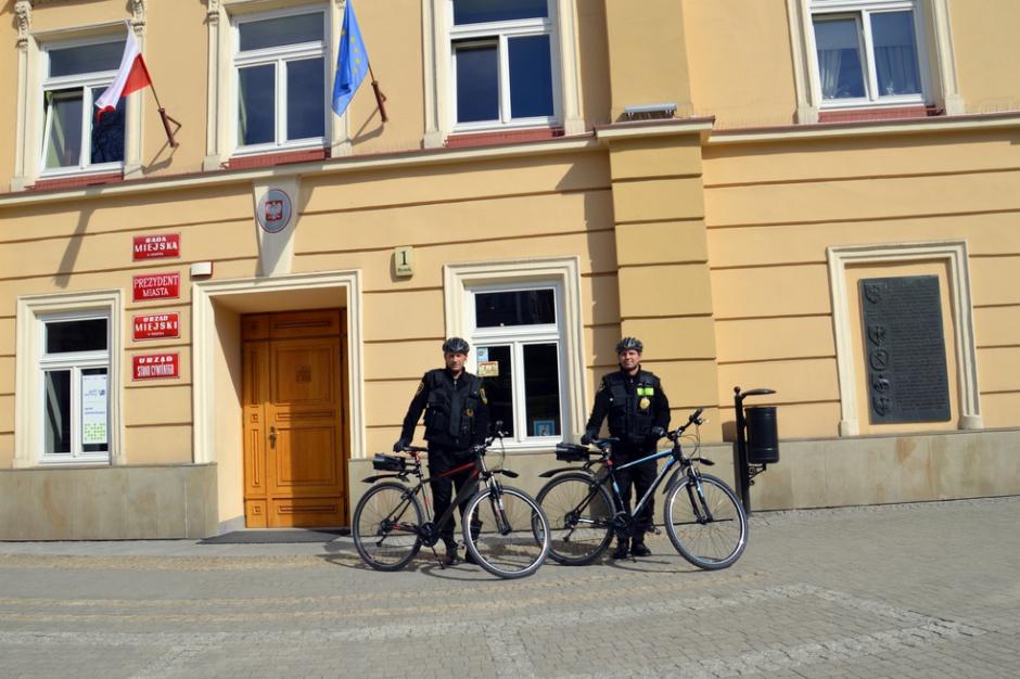 Przemyśl: Strażnicy miejscy na rowerach