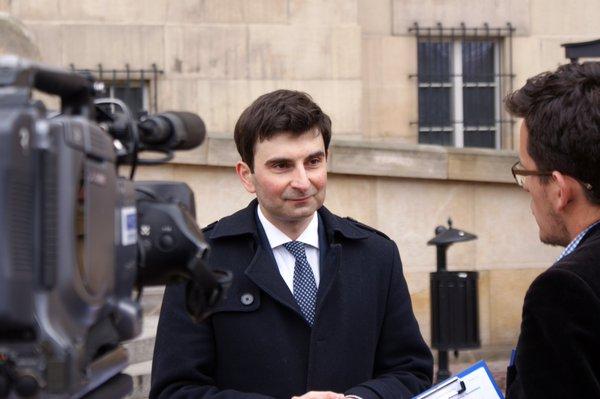 Marek Wójcik (fot.twitter.com/Platforma_org)
