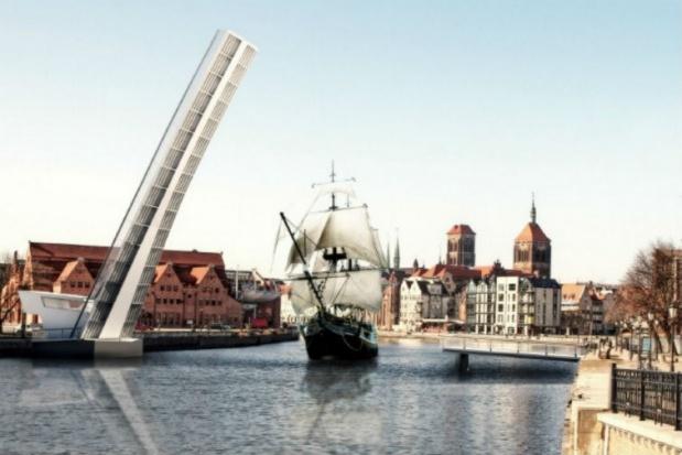 Gdańsk, kładka na Ołowiankę: Siedem ofert w przetargu na budowę kładki