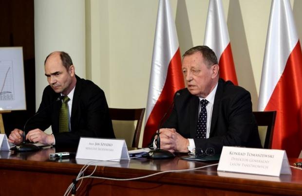 Minister środowiska odwiedził Białowieżę