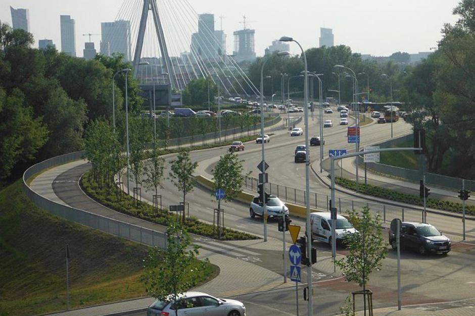 Warszawa: Trasa Świętokrzyska gotowa w październiku 2017 r.