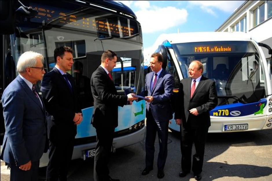 Komunikacja: 115 mln zł na ekologiczne autobusy dla Krakowa
