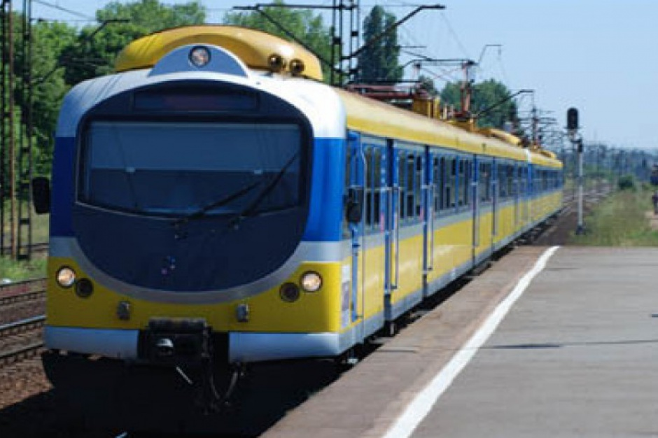 Pociągiem z Rzeszowa do Krosna pół godziny krócej