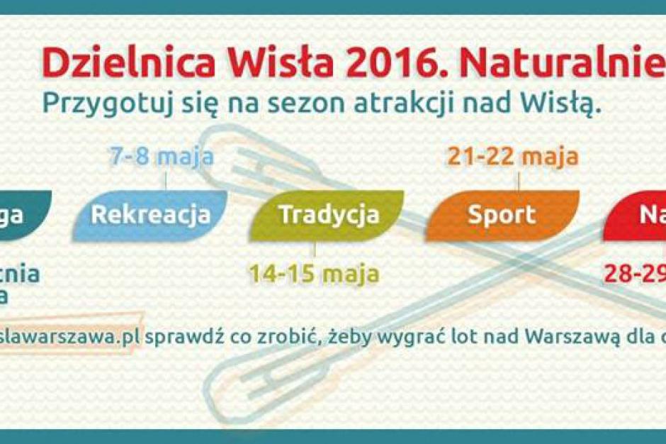 Warszawa: otwarcie sezonu nad Wisłą