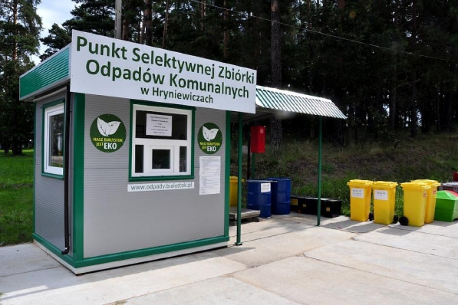 Ruszył nabór wniosków na dofinansowanie budowy Punktów Selektywnego Zbierania Odpadów Komunalnych