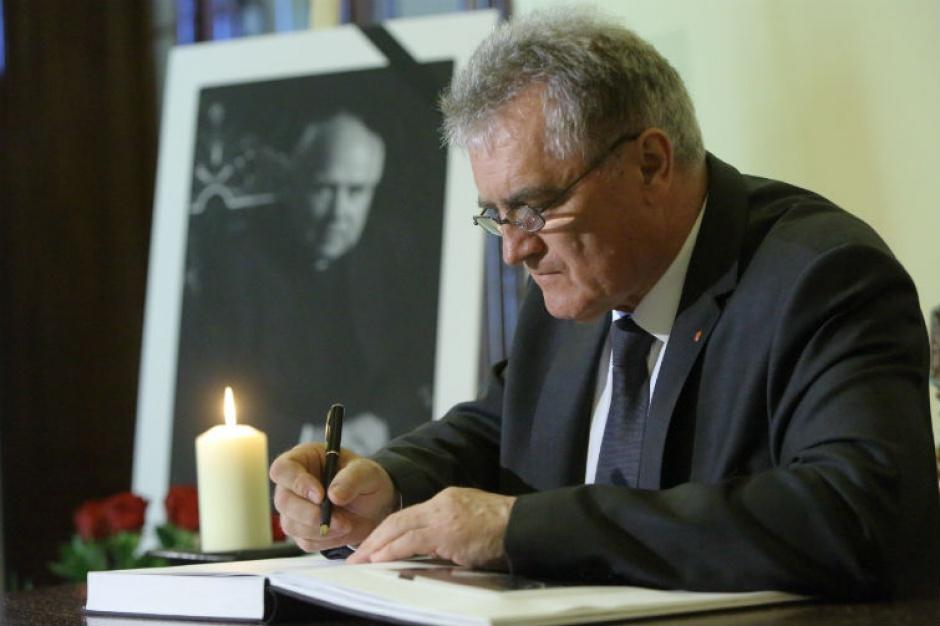 Gdańsk: Trwają uroczystości pożegnalne abp. Tadeusza Gocłowskiego