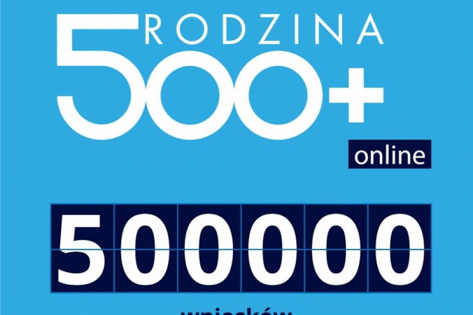 500plus: Pół miliona wniosków złożonych elektronicznie