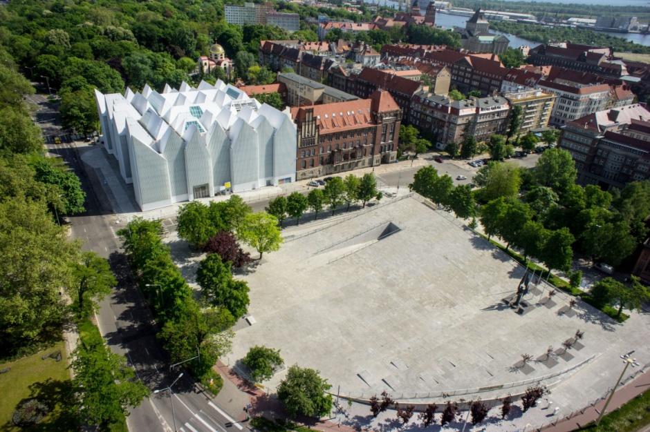 Szczecin: Centrum Dialogu Przełomy wśród najlepszych przestrzeni publicznych Europy
