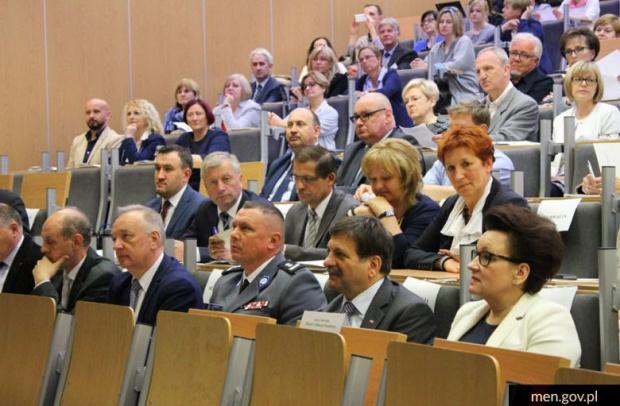 W debacie uczestniczyło ponad 300 osób z województwa pomorskiego (fot.men.gov.pl)