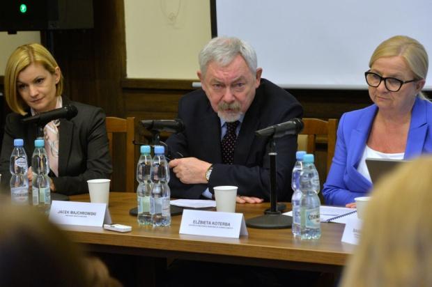 Konferencja prasowa z udziałem Jacka Majchrowskiego ws. uchwały krajobrazowej (fot.Wiesław Majka / krakow.pl)