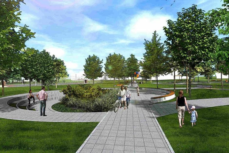 Poznań chce urządzić park Rataje