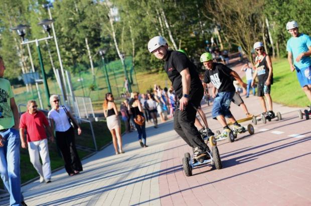 Park rozrywki to doskonałe miejsce relaksu i uprawiania sportów (fot.mat.prasowe)