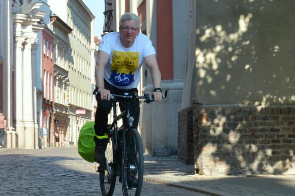 Prezydent Poznania dołączył do Cycling Challenge