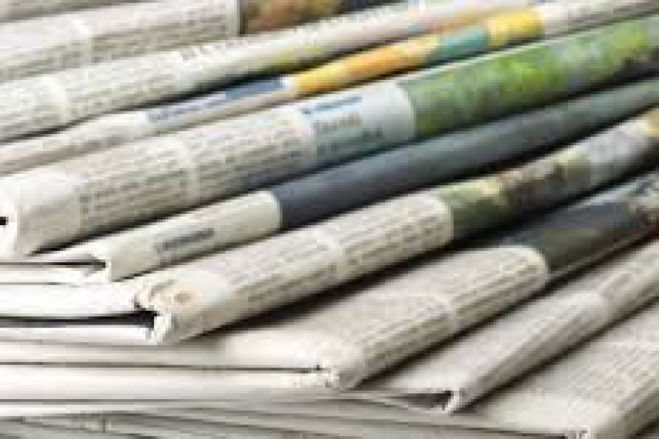 Gminy i powiaty nie powinny wydawać prasy tylko biuletyny