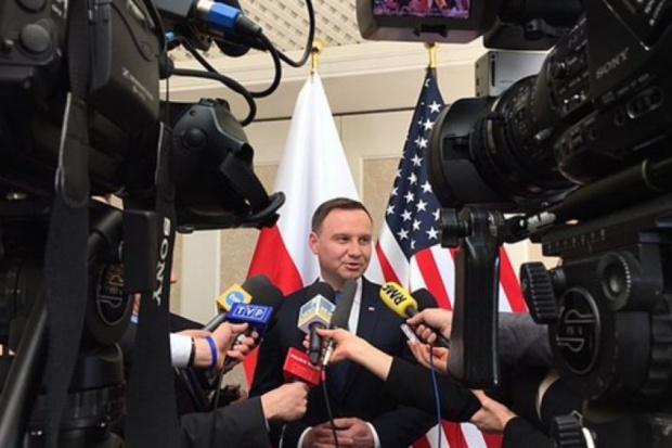 Wzmocnienie sojuszu z NATO to priorytet Andrzeja Dudy. (fot.prezydent.pl)