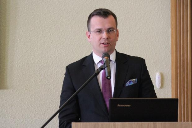 Adam Hamryszczak, podsekretarz stanu w Ministerstwie Rozwoju. (fot. mr.gov.pl)