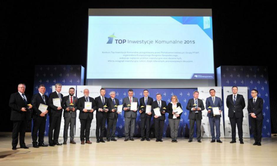 Gala wręczenia nagród Top Inwestycje 2015. (fot. PTWP)