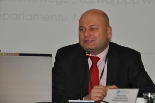 Witold Słowik, podsekretarz stanu w ministerstwie rozwoju. (fot. mr.gov.pl)
