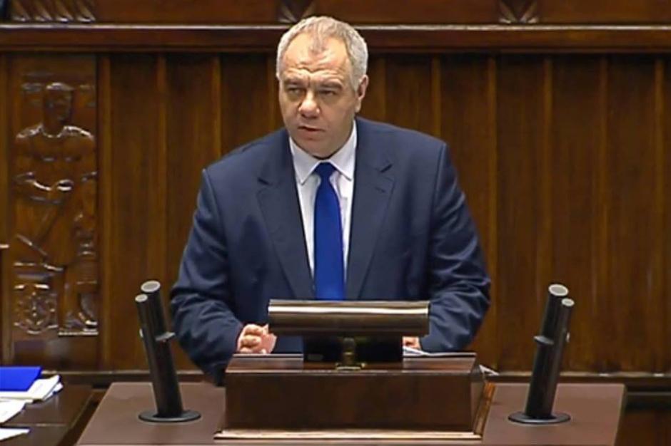 Jacek Sasin kandydatem na trzeciego w tej kadencji szefa komisji finansów