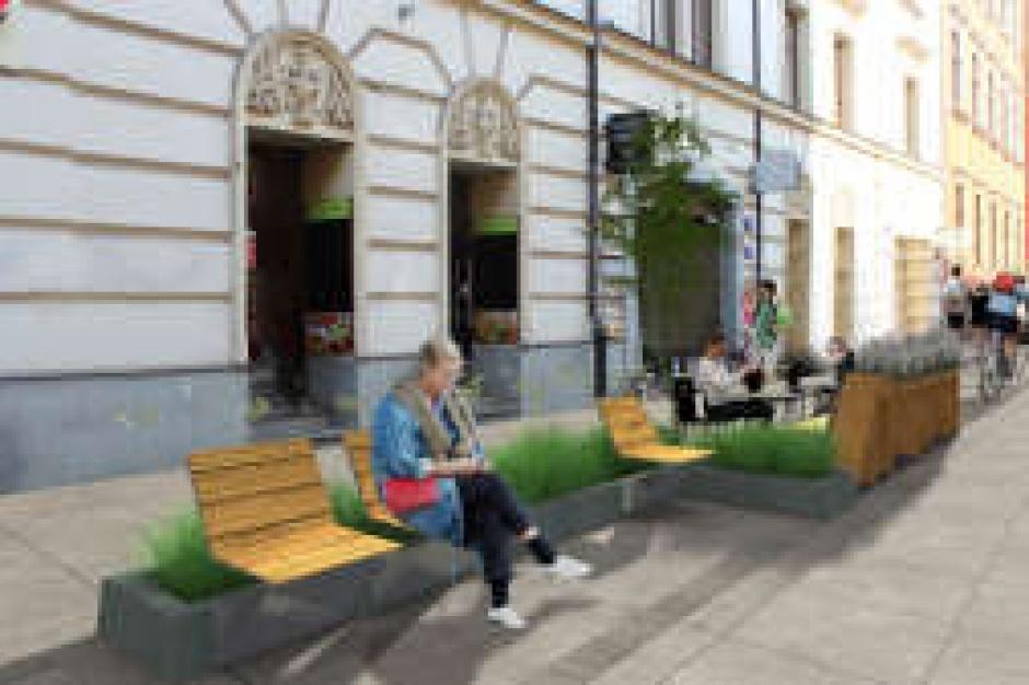 Kraków. Mikropark na Krupniczej
