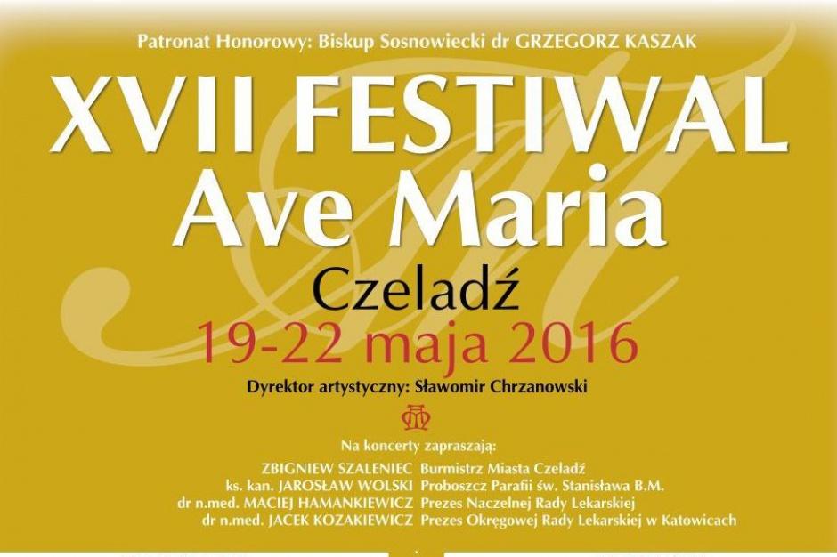Czeladź. Rusza XVII Festiwal Ave Maria