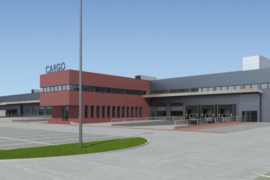Nowy terminal cargo na katowickim lotnisku