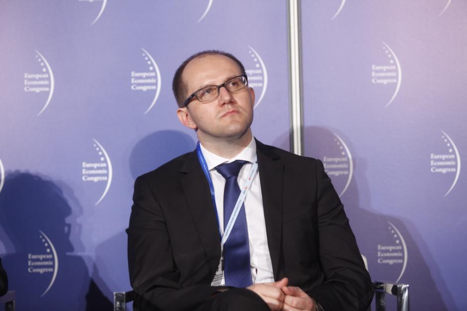 """Tomasz Żuchowski: uwarunkowania lokalizacyjne elektrowni wiatrowych do tej pory """"ze wszech miar nie były transparentne"""". Fot. PTWP."""