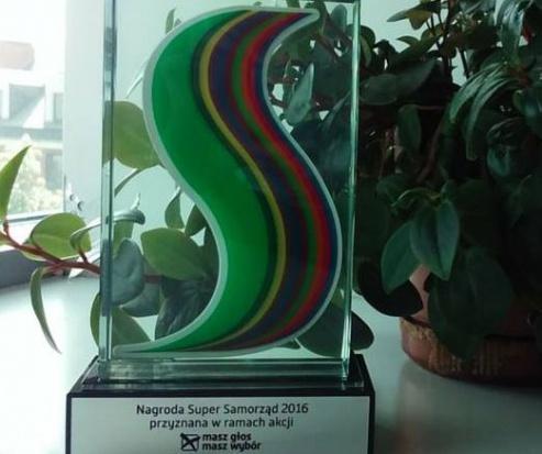 Super Samorządy odebrały nagrody