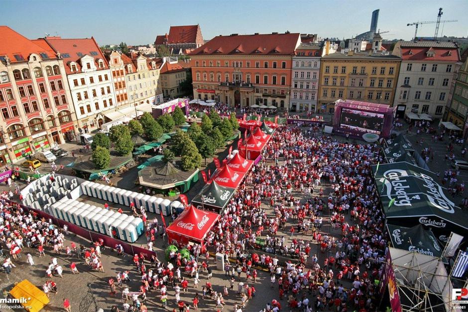 Wrocław, Kraków i Poznań zrezygnowały ze strefy kibica na Euro 2016