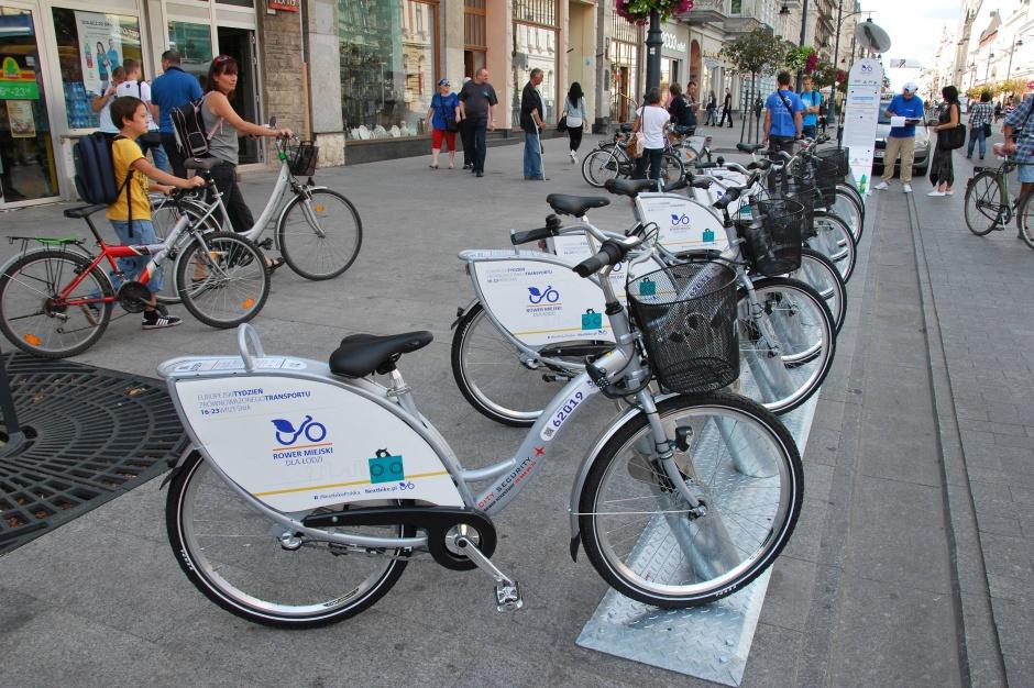 Łódź, rower miejski: 363 tys. wypożyczeń