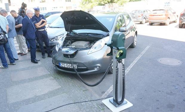 Szczecin, samochody elektryczne: Pożyczki z WFOŚiGW na ekologiczne pojazdy