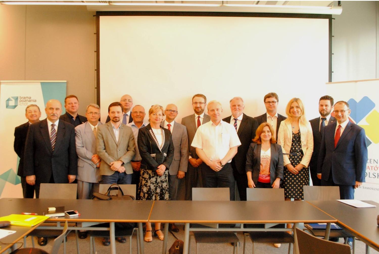 Spotkanie podsumowujące ostatnie półrocze działalności Ogólnopolskiego Porozumienia Organizacji Pozarządowych odbyło się 10 czerwca (fot. OPOS)