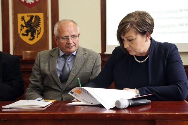 Przebudowa 56-kilometrowego odcinka linii kolejowej obejmie także montaż nowoczesnych urządzeń sterowania ruchem kolejowym oraz budowę nowej nastawni w Kwidzynie (fot.pomorskie.pl)