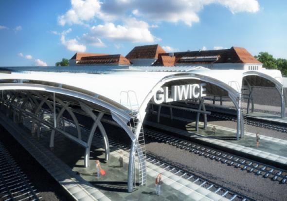 Dworzec kolejowy w Gliwicach: opóźnienie na budowie