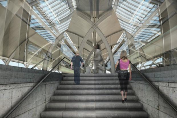 PKP SA zadeklarowały, że dokładają starań, aby jak najszybciej uruchomić obsługę pasażerską w budynku dworca i zminimalizować utrudnienia związane z funkcjonowaniem stacji (fot.mat.prasowe)