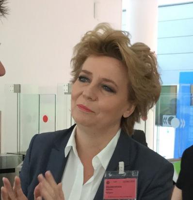 Hanna Zdanowska z absolutorium głosami koalicji