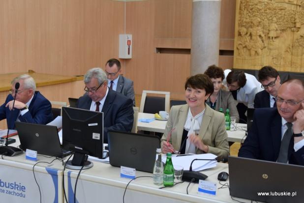 Zarząd województwa lubuskiego z absolutorium