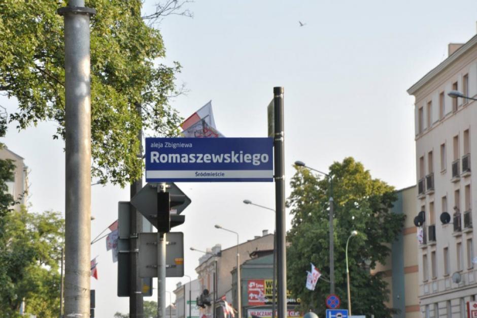 Zbigniew Romaszewski patronem alei w Radomiu