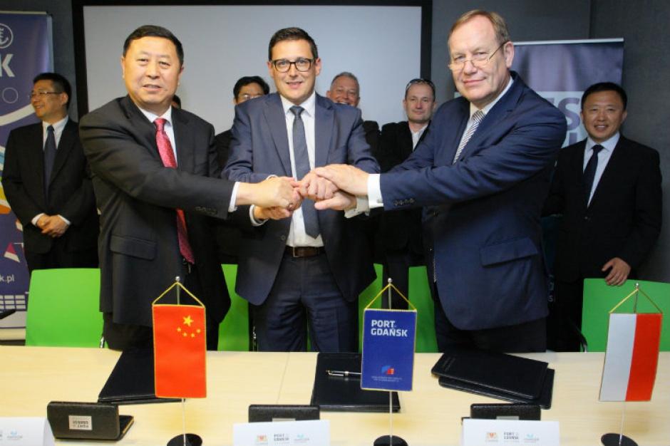 Gdański port rozpoczyna współpracę z chińskim partnerem