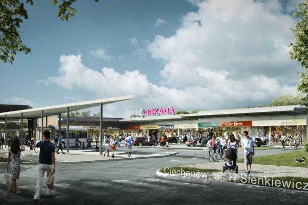 Dekada Ciechanów: wkrótce ruszy budowa nowej galerii handlowej