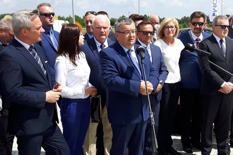 Wicepremier w Łodzi: o autostradzie, rewitalizacji i wystawie Expo