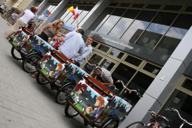 Rowery transportowe możne wypożyczyć także w Warszawie (fot.ztm.pl)