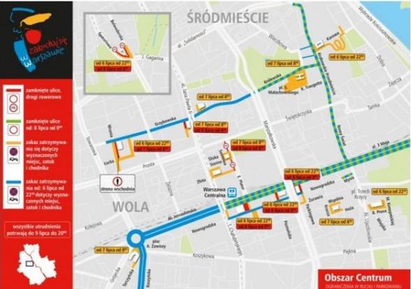 Szczyt NATO, komunikacja miejska w Warszawie: Będą zmiany w ruchu drogowym