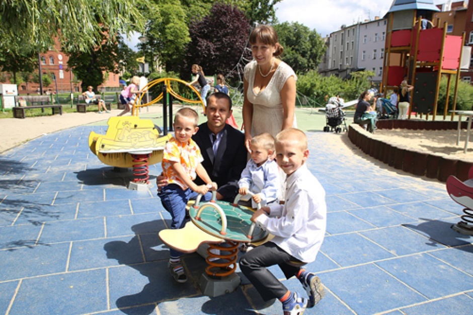 Bydgoszcz nowym domem dlapięcioosobowej rodziny