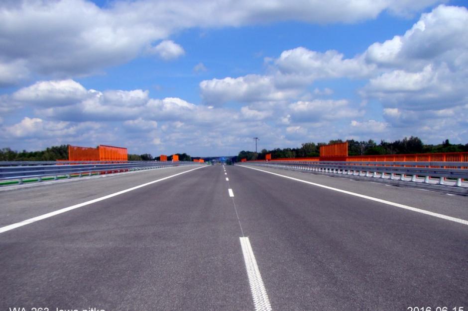 Łódź, autostrada A1: Urzędnicy zaskoczeni dużo mniejszym natężeniem ruchu