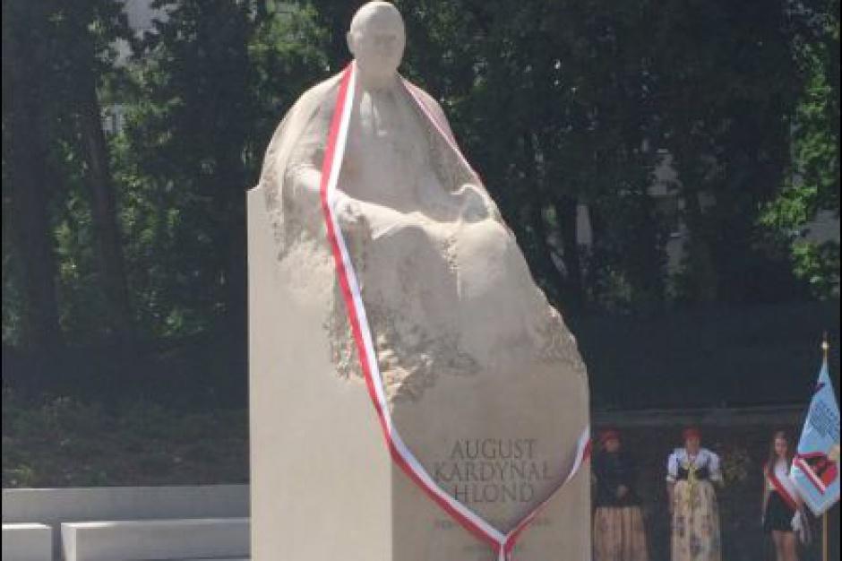 W Katowicach odsłonięto pomnik kard. Augusta Hlonda